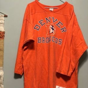 Other - Orange vintage broncos shirt
